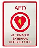 First Aid Sign AED Plus Aed Automated External Defibrillator, Quantity : 1