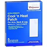 Walgreens Cool 'n Heat Patches, Arm, Neck & Leg, 5 ea