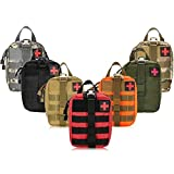 Rip Away Molle Utility Medical First Aid Bag/Pouch (Orange)