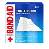 Band Aid Brand First Aid Products Tru-Absorb Gauze Sponges for...