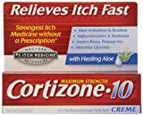 Cortizone 1% Hydrocortisone Anti-Itch Cream, 1 oz