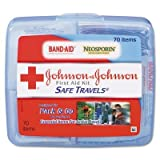 5 X Red Cross Safe Travels First Aid Kit-70 ct
