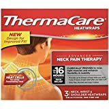 ThermaCare Air-Activated Heat Wraps, Neck pain therapy