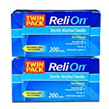 ReliOn Sterile Alcohol Swabs, 200 count by Reli On