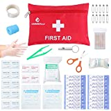 First Aid Kit Medical Survival Bag(46 Piece),Mini First...