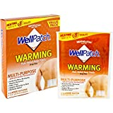 WellPatch Warming Pain Relief Heat Patch, 4 large patches, 5'x4' (13x10 cm) each