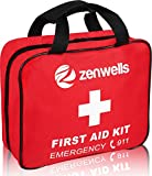 First Aid Med Trauma Kit; EMT Medical Supplies Bag Kits, Firstaidkit For Car Trips, EMS Triage Needs, Or Just Gear Stocked Survival Bags for Emergency Equipment. Your Complete Responder Organizer!