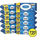Cottonelle FreshCare Flushable Wipes for Adults, Extra Large,...