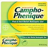 Campho-phenique Antiseptic Gel, 0.50-Ounce