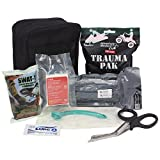 Ever Ready First Aid Meditac Tactical Trauma IFAK Kit with Trauma Pack Quickclot and Israeli Bandage in Molle Pouch (Updated Version Featuring SWAT-T)