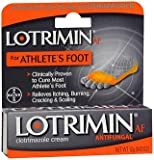 Lotrimin AF Antifungal Cream, Athletes Foot - .42 oz, Pack of 2