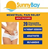 Menstrual Cramp and Pain Relief Heat Patches: Adhesive Disposable Air-Activated Portable Personal (Menstrual Pain Heat Pads)