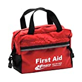 First Aid Bag Small Red with Handles Empty Each