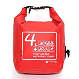 MARJAQE 4 Litre Waterproof First Aid Bag With Removeable strap A172