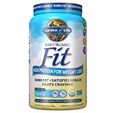 Garden of Life Organic Meal Replacement - Raw Organic Fit Powder,...