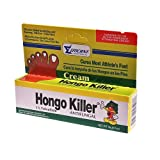 Hongo Killer Antifungal Cream Cures Athletes Foot, 14g (0.5oz) by EFFICIENT LABORATORIES INC