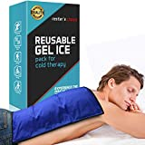 Cold Therapy Gel Pack - Large 13x21.5' Ice Pack for Back, Knee,...