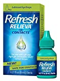 Refresh Relieva for Contacts Lubricant Eye Drops 0.27 Fl. Oz...